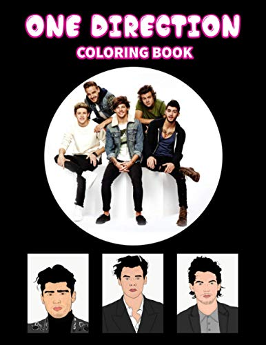 One Direction Coloring Book: Great gift for girls, Boys and teens who love One Direction with spiroglyphics coloring books - One Direction coloring book