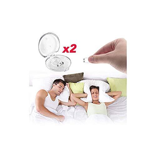 Qarfee Dispositivo Anti Russamento Anti Russare Dilatatore Nassale Antirussamento Può Alleviare il Russare e Facilitare il Sonno Nasal Dilator Clip 2PCS