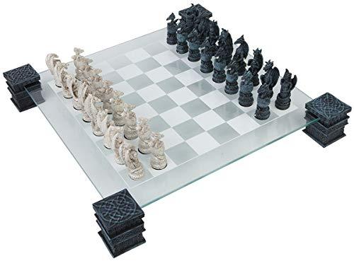 Nemesis Now Dragon - Juego de ajedrez (43 cm),