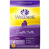 Wellness Natural Pet Food Complete Health Natural Dry Dog Food, Chicken & Oatmeal, 5-Pound Bag