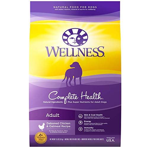 Wellness Natural Dry Dog Food: 30-Lbs Complete Health (Chicken & Oatmeal) $32.62 w/ S&S & More + Free Shipping