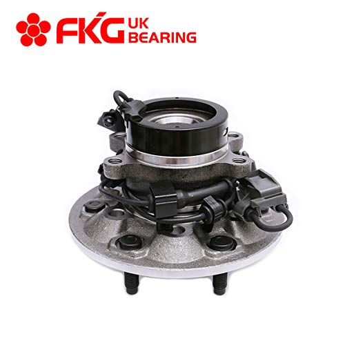 FKG 515110 (4WD Only) Front Left Side Wheel Bearing Hub Assembly fit for 2004-2008 Chevy Colorado, 2004-2008 GMC Canyon, 2007-2008 Isuzu I370, 2006 Isuzu I350, 6 Lugs W/ABS