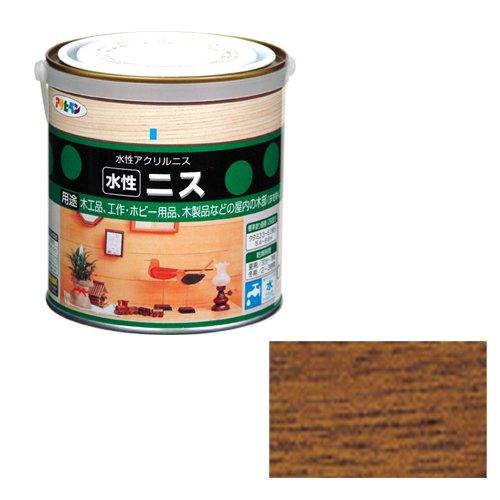 アサヒペン 水性ニス メープル 缶0.7l
