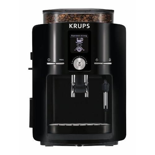 KRUPS EA8250 Espresseria Super Automatic Espresso Machine Coffee Maker with Built-in Conical Burr Grinder