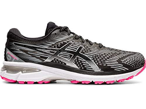 ASICS Women's GT-2000 8 Lite-Show Running Shoes, 6.5M, Graphite Grey/Pure Silver