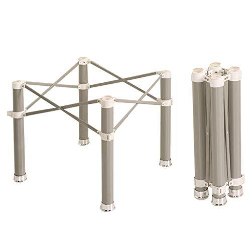 Meubelpoten, metalen beugel tafelpoten, roestvrij staal opklapbare tafelpoten, kan worden opgeslagen en gemakkelijk te gebruiken Geschikt voor gasten, wilde bijeenkomsten, tuintafels