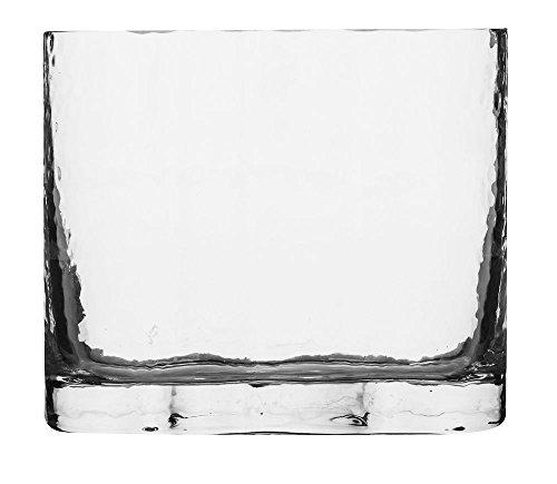 Sagaform Siluett Vase, groß, Glas, 19 x 16 cm, 19 x 16 x 19 cm