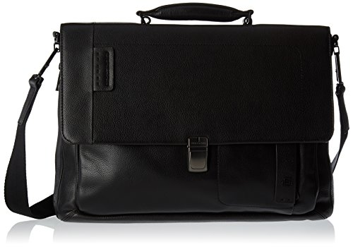 PIQUADRO Continuous Storage Bag Organizer, 11 x 30 x 41.5 cm (W x H x L), Black (Black) - CA3111P15S