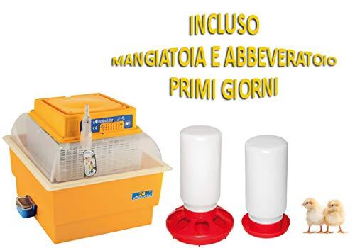Incubatrice covatutto 24 analogica + Kit Primi Giorni