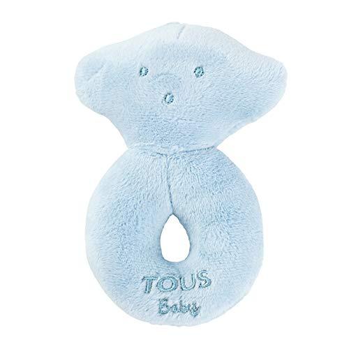 Tous Baby- Oso sonajero, Color Celeste (T.Bear-601_00067_0/36M)