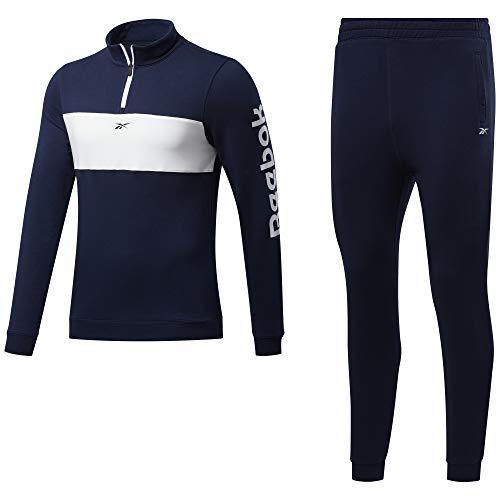 Reebok Te Linear Logo TS Trainingsanzug für Herren, Nachbar, Gr. M