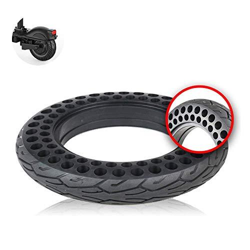 WYDM Neumático de scooter eléctrico para adultos, 10X2.0 Neumático sólido de panal a prueba de explosiones, resistente al desgaste, no inflable, antideslizante, accesorios para neumáticos de scooter e