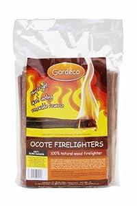 Gardeco OCOTE-BAG1 - Briquetas, Color Negro