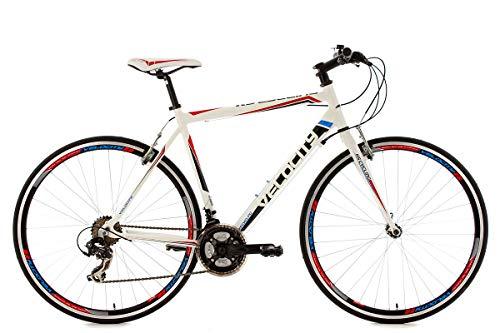 """KS Cycling Fitnessbike Alu-Rahmen 28"""" Velocity 21-Gänge weiß RH59cm"""
