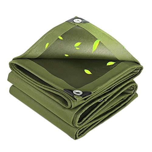 LULU dikker dekzeil outdoor schaduw regendoek waterdichte zonnebrandcrème tentdoek winddichte luifel regenhoes (meerdere maten)