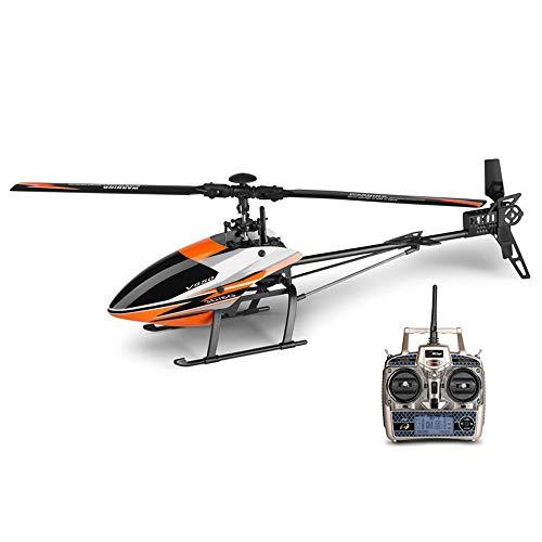 DBXMFZW 2.4g Control Remoto sin escobillas Helicóptero de 6 Canales RC Aircraft 3/6-Axis Gyroscopio RC Airplane 3D6G Modo RC Aeroplano Aerial Stunt RC Aviones Regalos para Niños Adultos Profesionales