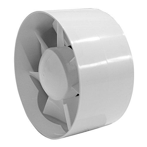 Buisventilator - 150mm - met timer - inschuifventilator - buisventilator, ek150t