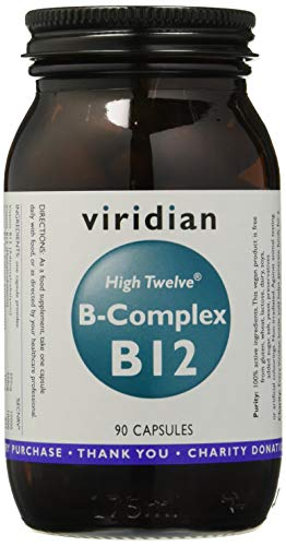 Viridian High Twelve Vitamina B12 con B-Complex - 90 Cápsulas