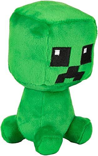 Minecraft Dungeons Mini Crafter Creeper - Juguete de peluche