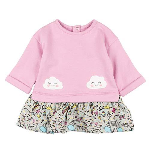 Charanga VANDADITO Vestido, Multicolor (Multicolor 100), 86 (Tamaño del Fabricante:18-24) para Bebés