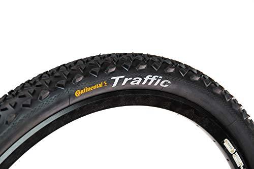 2 Stück 26 Zoll Continental Traffic II Sport Fahrrad Reifen 54-559 MTB Mantel 26 x 2.1
