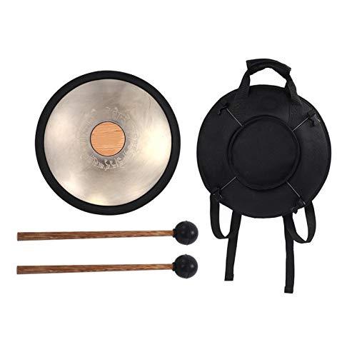 Tambor de acero al carbono profesional de acero al carbono, para una variedad de campos, para músicos, para meditación de yoga