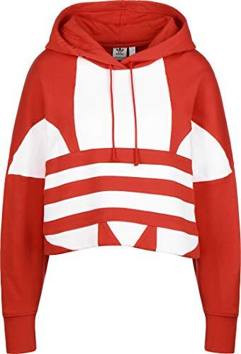 Adidas Damska bluza LRG LOGO C-HOOD Lush czerwony/biały, 50