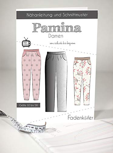 Schnittmuster und Nähanleitung - Damen Hose - Pamina