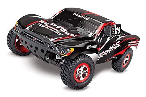 Slash: 1/10 -Scale 2WD Short Course Racing Truck Ready-to-Race con TQ 2.4GHz Radio System e XL-5 ESC (FWD/Rev). Include: 7 celle NiMH 3000mAh Traxxas batteria