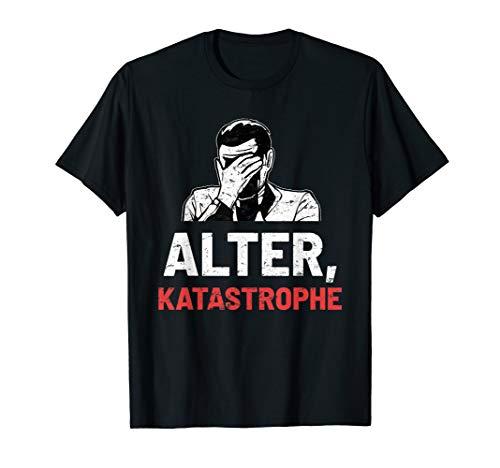 Alter Katastrophe Vintage Retro Lustig Geschenk T-Shirt