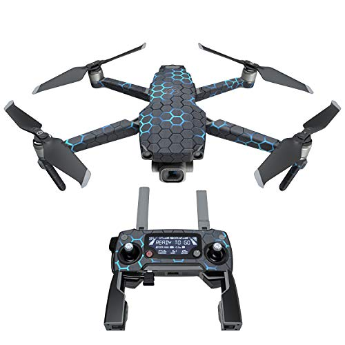EXO Neptune Decal Kit for DJI Mavic 2/Zoom Drone - Includes 1 x Drone/Battery Skin + Controller Skin