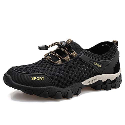 Zapatillas Hombre Mujer de Trail Running Escarpines Zapatos de Agua Zapatos de Deportes Acuaticos para Buceo Snorkel Surf Playa Natación Yoga Antideslizante Secado Rápido