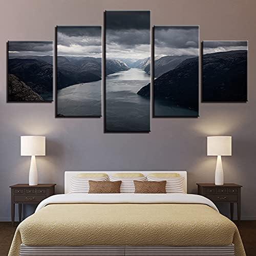 HEWEIGUI Nippon regular agency Denver Mall Leinwand Ölgemälde Bild Moderne Heimtextilien HD-Druck