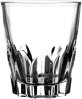 Borosil Lagoon Glass Set, 285ml, 6-Pieces, Transparent