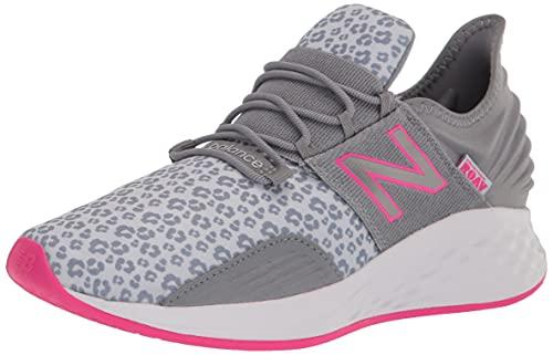 New Balance Fresh Foam Roav V2 Lace-up Sneaker, Black/Phantom/Magnet, 13 US Unisex Little Kid