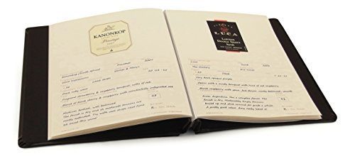 Cellar Notes Leather Wine Label and Tasting Journal with 20 Label Lift Removers (Black) - holds your tasting notes, ratings and labels - bundle includes Label Lift label removers and helpful tips