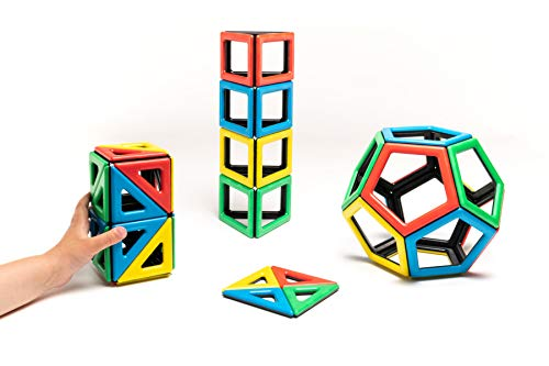 Polydron 50-1030Magnetisch Extra Formen Set (48Stück)