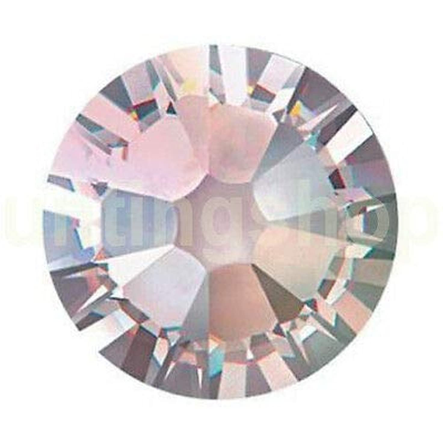 仕様間に合わせゆでるFidgetGear DIY 1.3-8.5 mmクリスタルヒラタラインストーンネイルアートデコレーションSS3-SS40 クリスタルAB