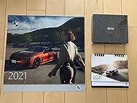 BMWカレンダー2021 3点セット(壁掛け1台/卓上2台)
