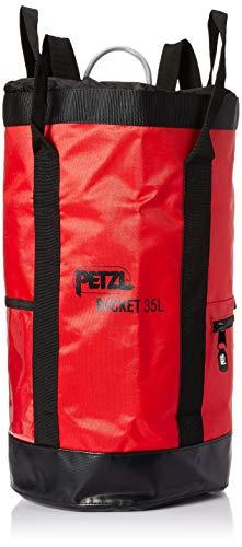 Petzl Bolso Bucket 35L Rojo, Unisex Adulto, Rojo, Talla única