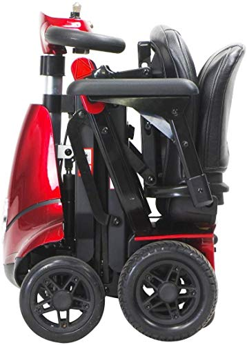 Wheelchair Silla de ruedas, silla de rehabilitación médica para personas mayores, personas mayores, Monarch Mobie Plus Scooter de movilidad plegable - Scooters eléctricos de 4 ruedas para adultos