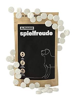 alphazoo Gelenktabletten mit Grünlippmuschel für Hunde | Teufelskralle, Glucosamin und Chondroitin | unterstützt die Gelenke und die Beweglichkeit für Adult und Senior mit Grünlippmuschelpulver