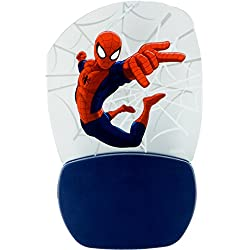 Marvel Ultimate Spider-Man 3D Motion Effect Night Light, Soft White Glow, Light Sensing, Long Life and Low Energy LED, 30271