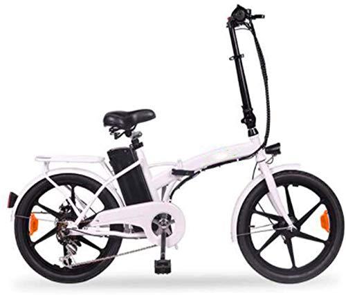 Alta velocidad 20 pulgadas bicicletas plegables eléctricos, pantalla LCD de doble freno de disco de bicicletas 36V10A Hombres Mujeres bicicletas for adultos Deportes al aire libre Ciclismo
