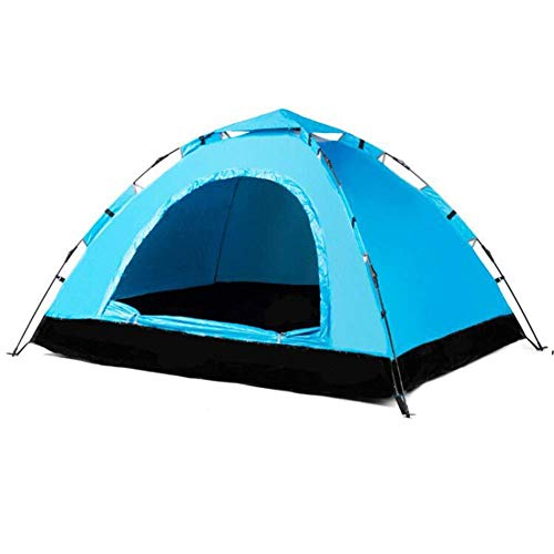 Qiutianchen Shower Tents for Camping, Double Layer Dome Tent, Camping Tent, 2 Person Dome Tent Professional Waterproof & Windproof Double Layer Suitable for Hiking, Outdoor Glamping, Fishing And