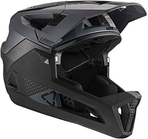 Leatt Casque MTB 4.0 Enduro Casco de Bici, Unisex Adulto, Negro, Medium