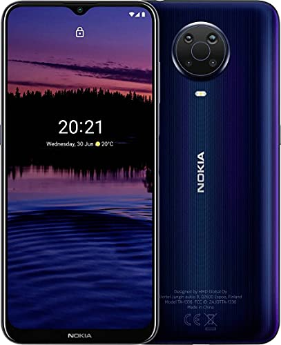 Nokia G20 64GB Handy, blau, Night, Android 11, Dual SIM