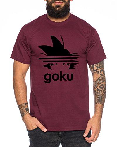 WhyKiki Adi Goku Camiseta Hombre Dragon