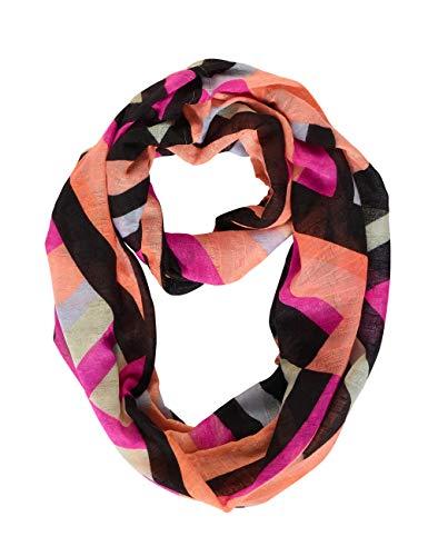 Street One Damen 571471 Mode-Schal, Strong Mandarine, A