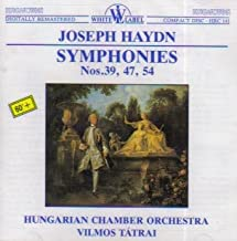 Haydn: Symphonies: No. 39 in G minor / No. 47 in G / No. 54 in G
